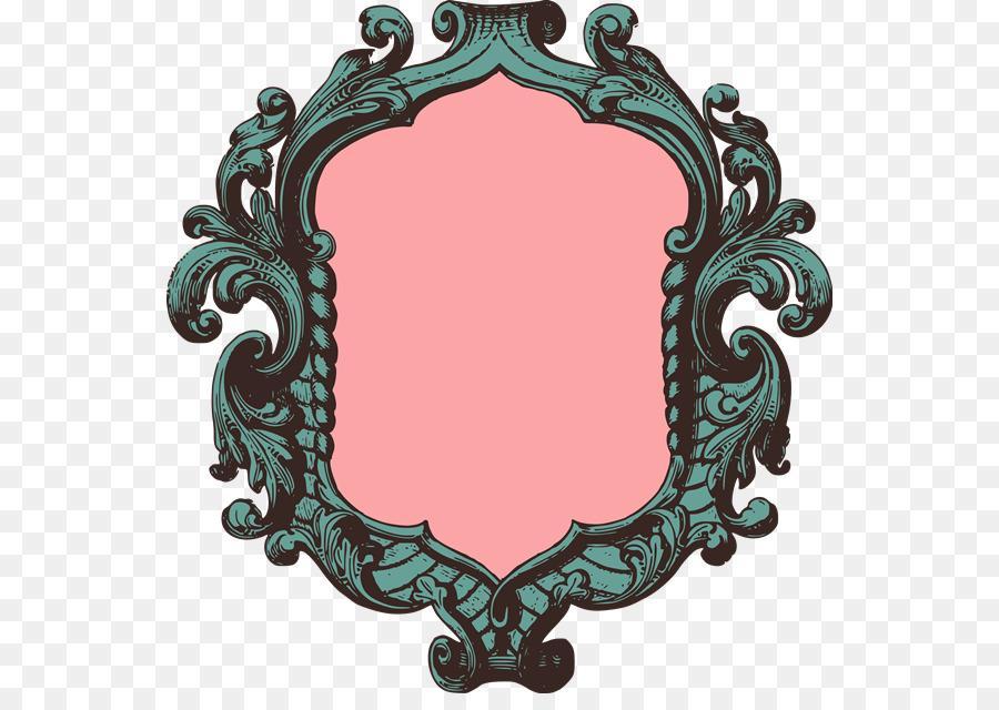 Royalty-free Picture Frames Clip art - Vintage Print png download ...