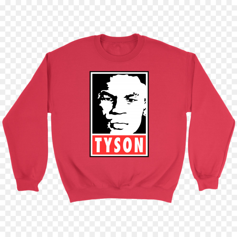 d9b5f3e519ef0e T-shirt Hoodie Crew neck Sweater - Mike Tyson png download - 1024 1024 -  Free Transparent Tshirt png Download.