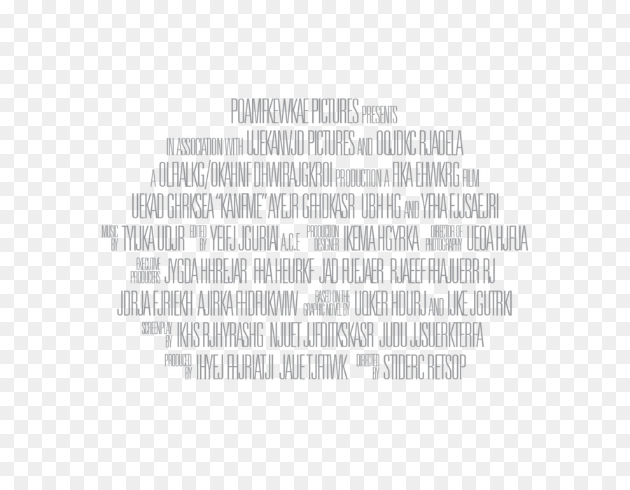 Closing Credits Film Poster Billing