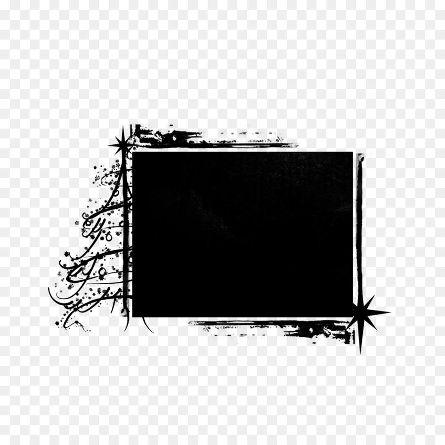Bilderrahmen Fotografie - schwarzer Rahmen png herunterladen - 3600 ...