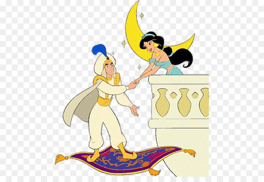 La princesa Jasmine de Aladdin Genio de libro para Colorear de Jafar ...