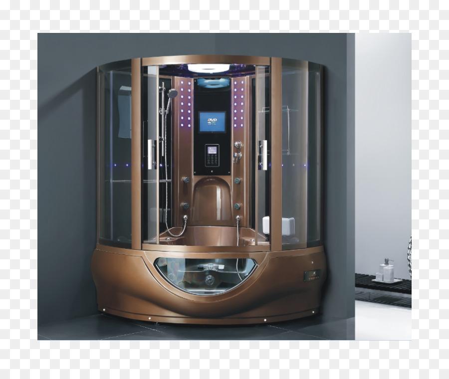 Hot tub Steam shower Bathtub Steam room - Steam Shower png download ...