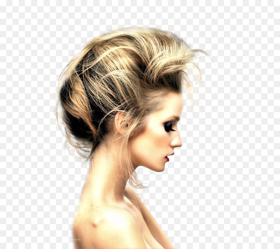 Mohawk Hairstyle Updo Fauxhawk Hair Png Download 635800 Free