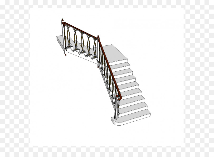 Line Angle Stairs   Staircase Model