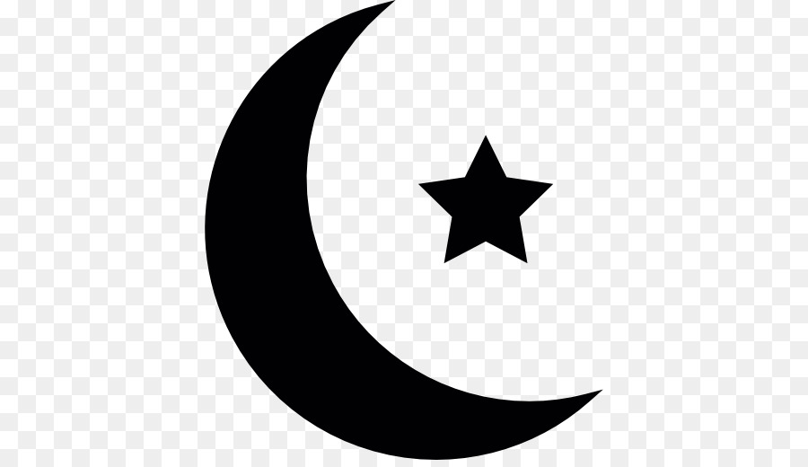 Star And Crescent Moon Symbols Of Islam Moon Png Download 512