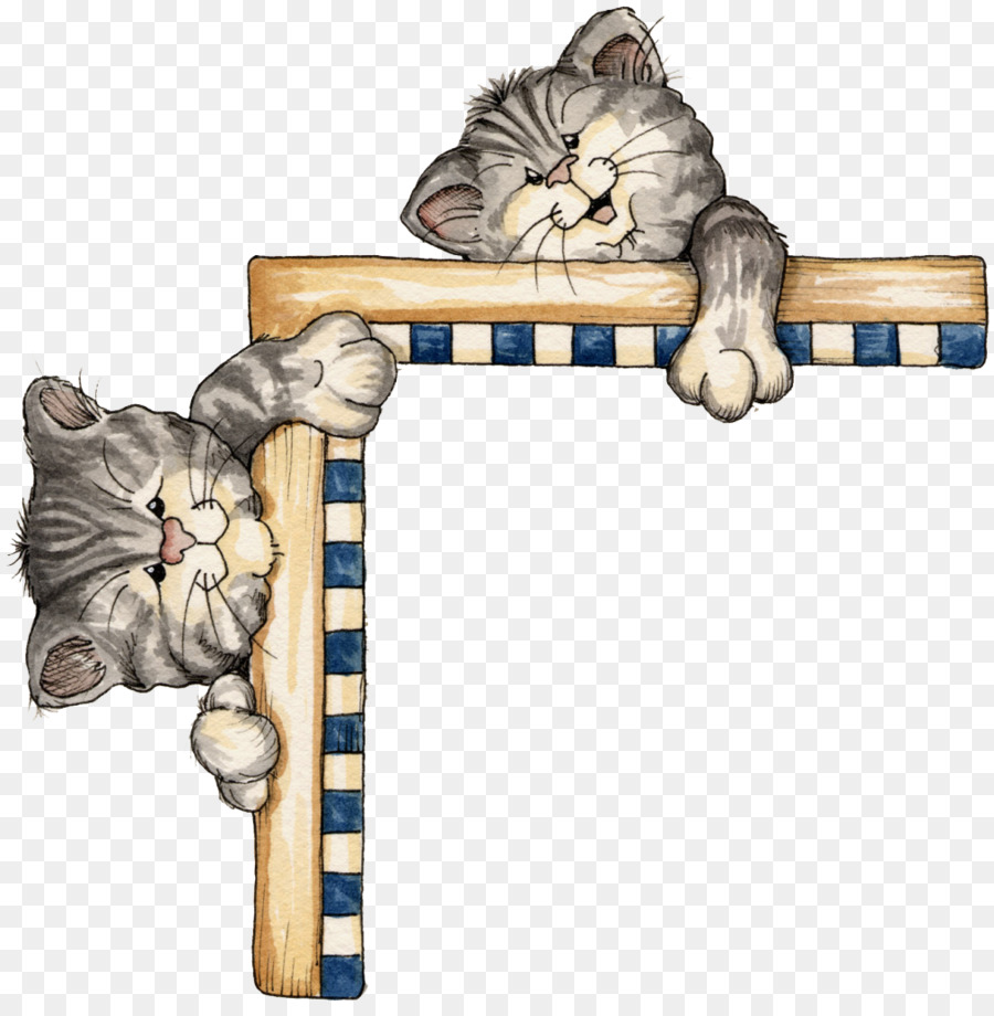 Black cat Picture Frames Clip art - Cat png download - 1013*1024 ...