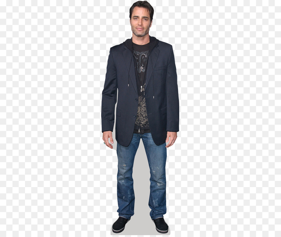 jacket with t shirt and jeans