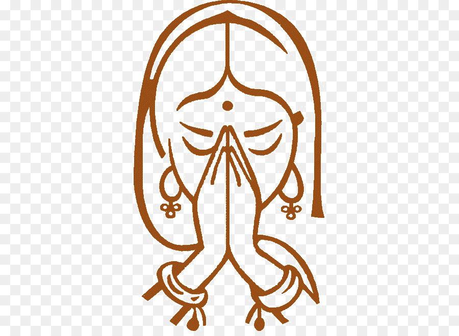 Namaste Logo Hindi Handshake Others Png Download 650650 Free