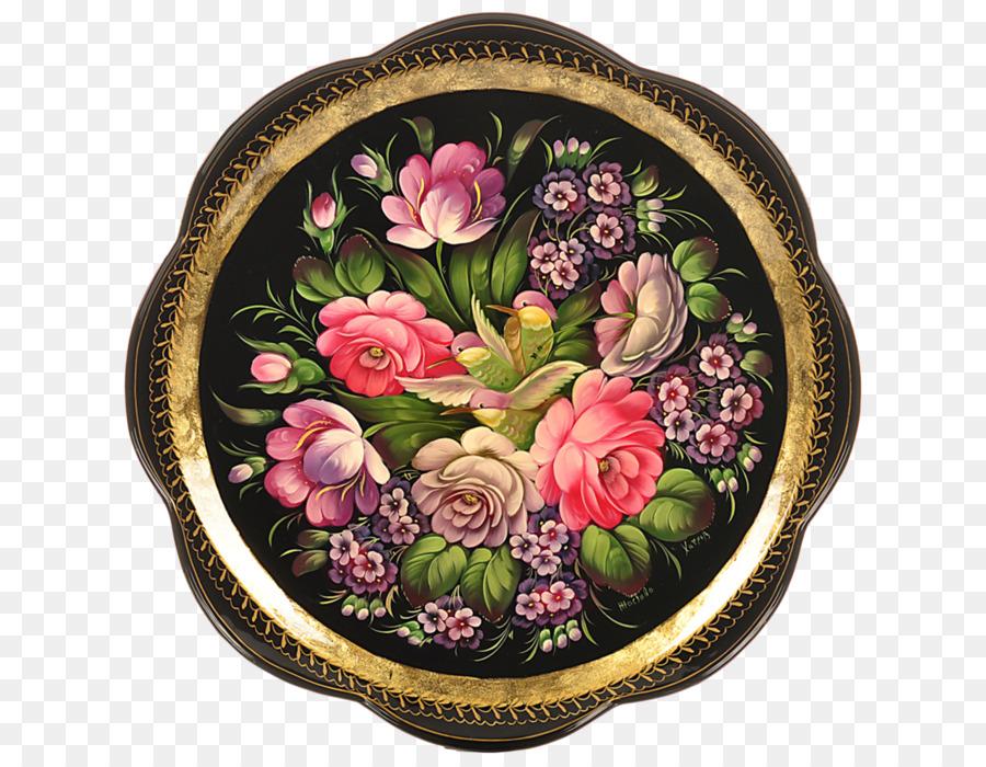 Zhostovo Painting Russia Folk Art Russia Png Download 693700