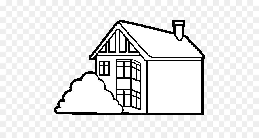 Dibujo de libro para Colorear, Pintar la Casa - Casa moderna sckech ...