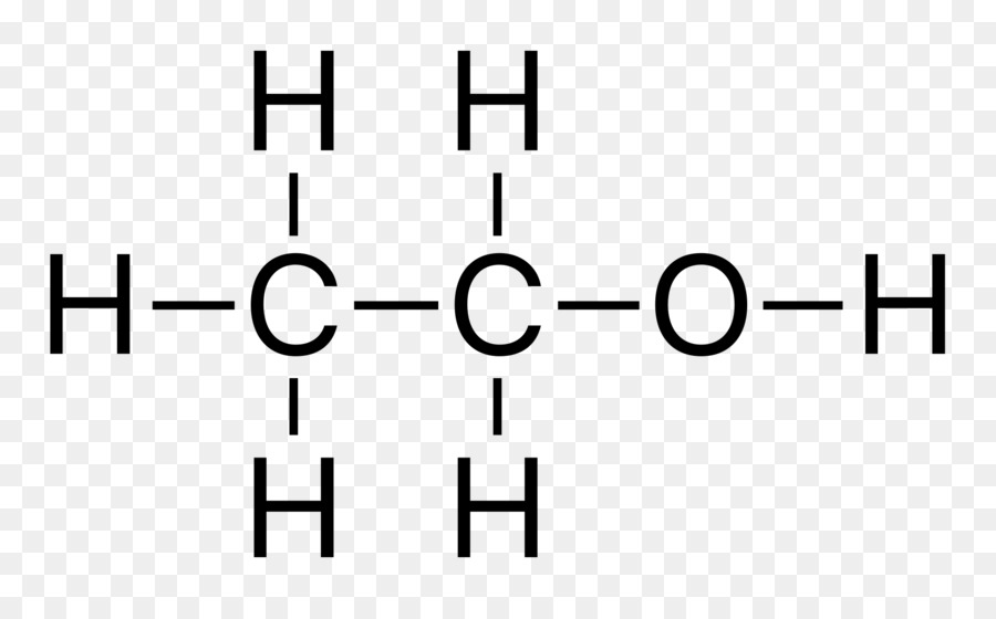 Ethanol Structural Formula Chemical Structure Alcohol Others Png