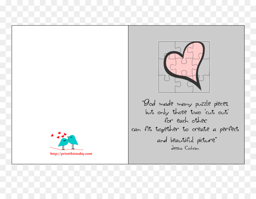 Love Puzzle Quotation Valentines Day Love Quote Png Download
