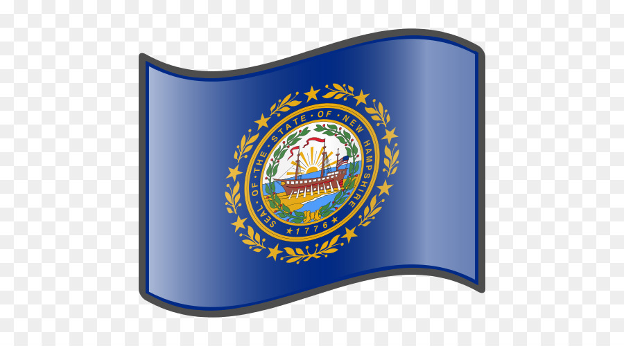 Flag And Seal Of New Hampshire Virginia State Png 500 Free Transpa