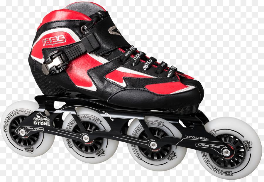 Quad patines En Línea, Patines de patinaje del patinaje sobre Hielo ...