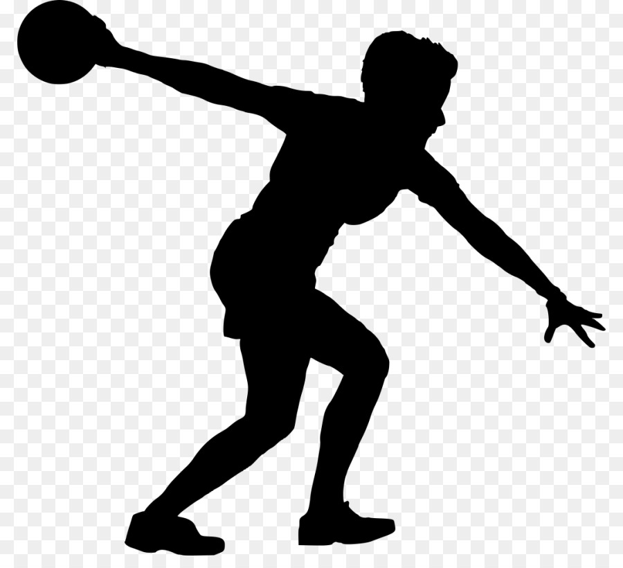 silhouette bowling sport clip art silhouette png download 850