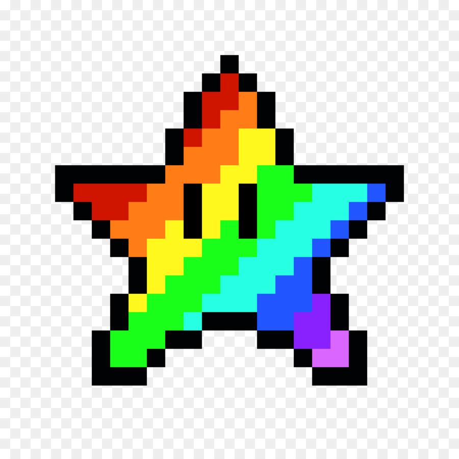 how to draw pixel mario