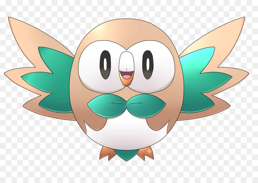 rowlett drawing pokémon go desktop wallpaper pokemon go png