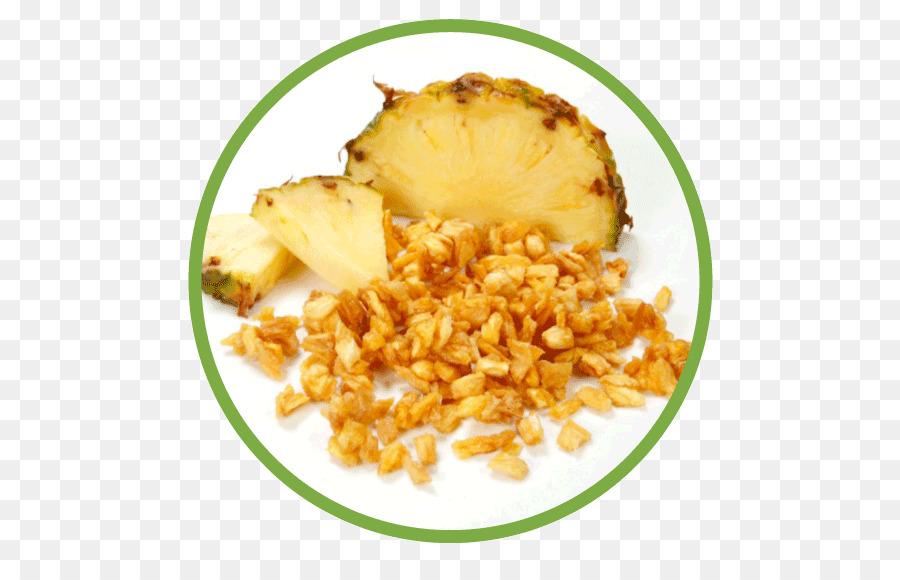 Vegetarische Küche Ananas Einzelne Schnelle Einfrieren von ...