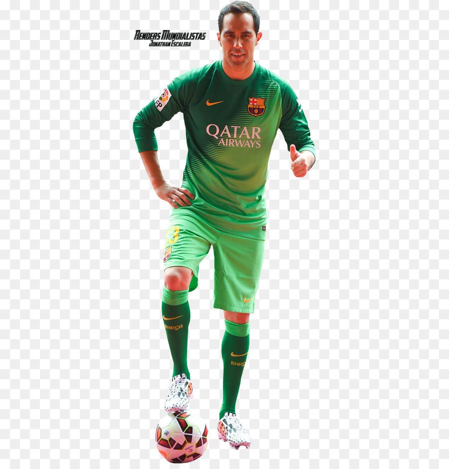 6b4ef6f2c18 Claudio Bravo FC Barcelona Jersey Camp Nou Football - fc barcelona ...