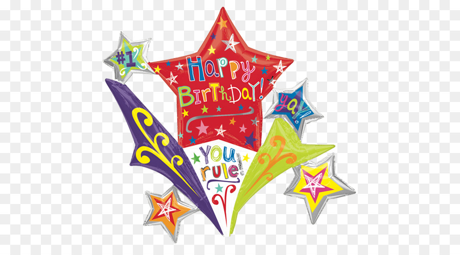 Birthday Cake Mylar Balloon Happy To You