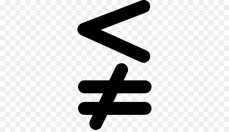 Less Than Sign Equals Sign Symbol Mathematics Slash Symbol Png