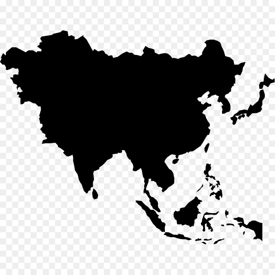 East Asia World map World map Blank map - map png download - 1200 ...