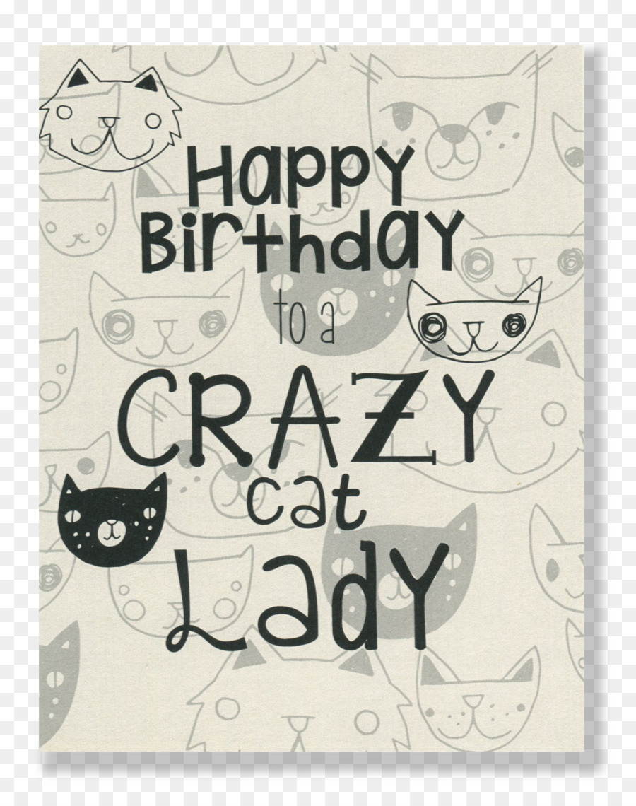The Cat Lady Birthday Cake Cat Png Download 14701856 Free