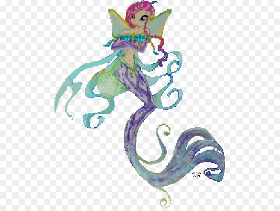 Fairy Seahorse png download - 554*672 - Free Transparent Fairy png