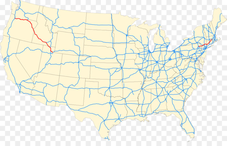 Interstate 5 Us Interstate Highway System Interstate 80 Us Numbered - Map-of-the-us-interstate-system