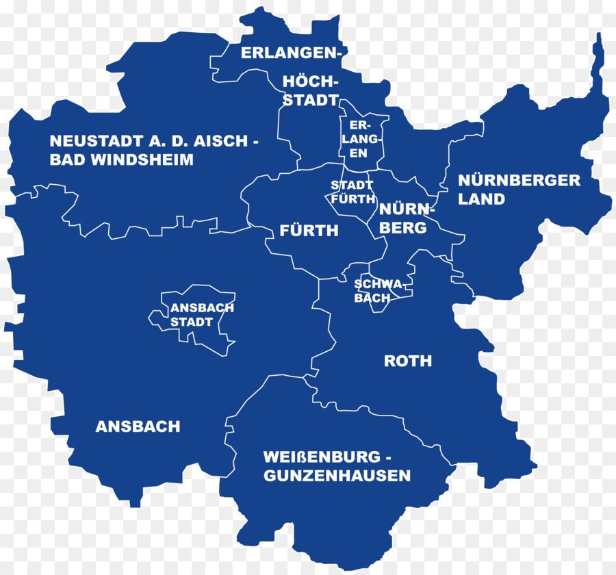 Mittelfranken Karte.Karte Mittelfranken Wasser Text Autobahn M04 Anzeigen Png