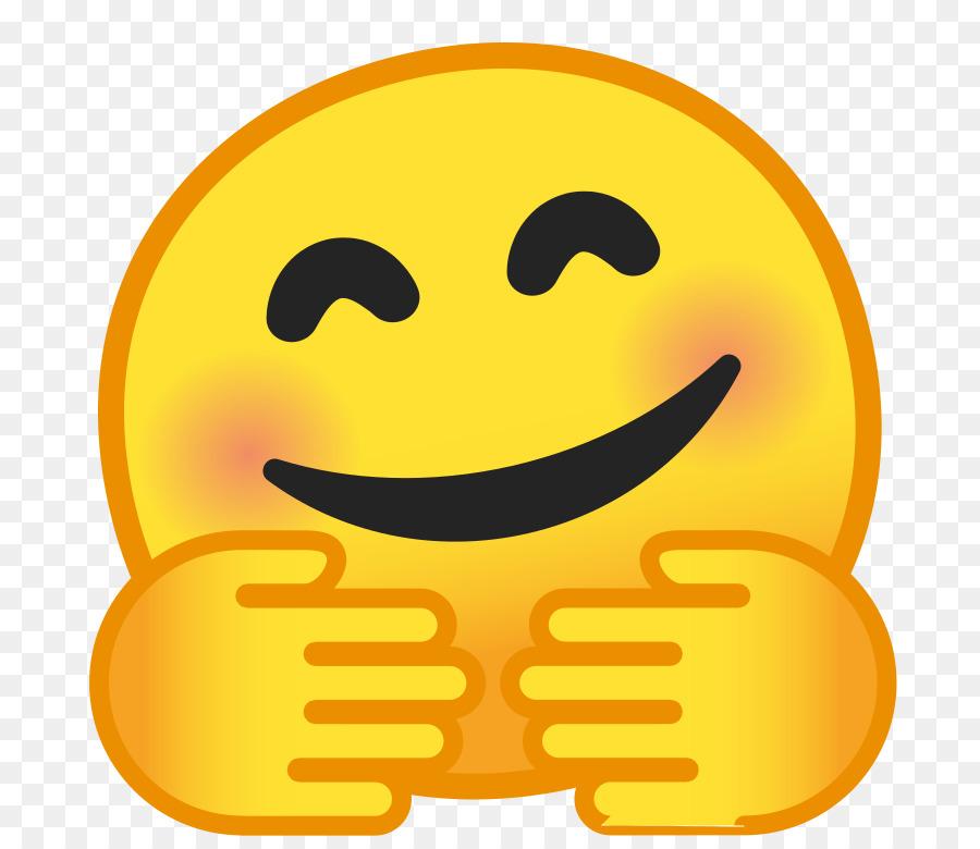 Emoji Hug Emoticon Noto Fonts Smiley Emoji Png Download 768768