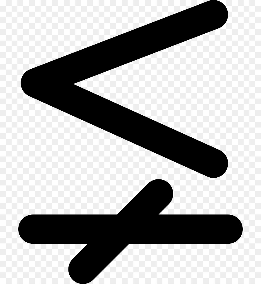 Less Than Sign Equals Sign Greater Than Sign Mathematics Equality
