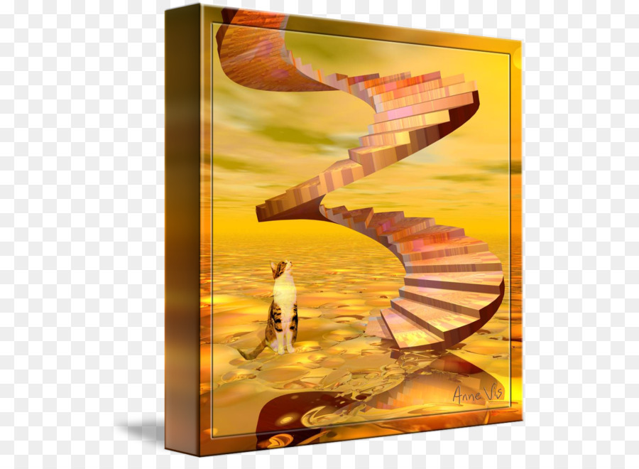 Modern Art Painting Photography Picture Frames Stairway To Heaven