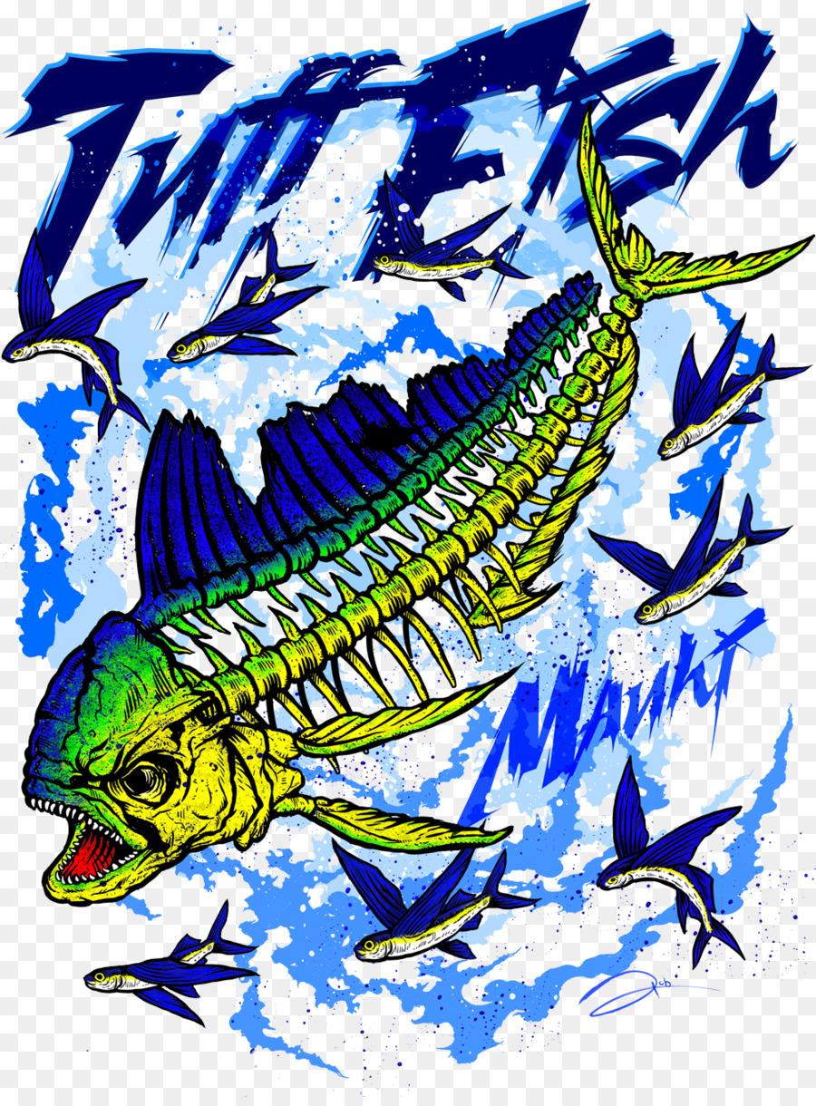 Mahi-mahi Color Blue - Mahi-mahi png download - 1000*1344 - Free ...
