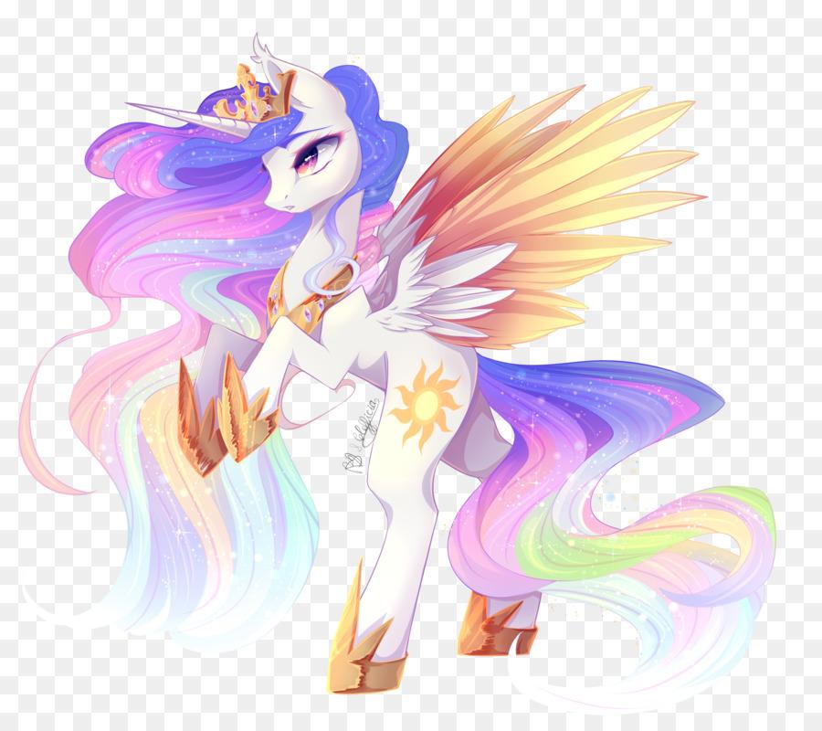 Poni De La Princesa Celestia La Princesa Luna Fluttershy - mi ...