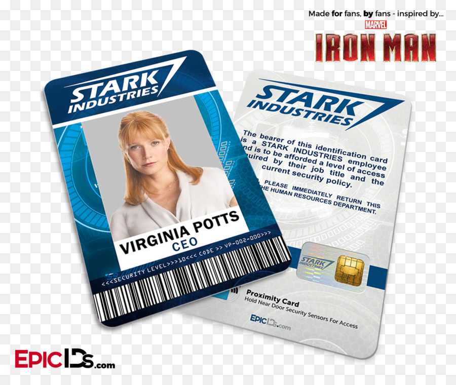 Pepper potts iron man stark industries business cards identity pepper potts iron man stark industries business cards identity document stark industries colourmoves