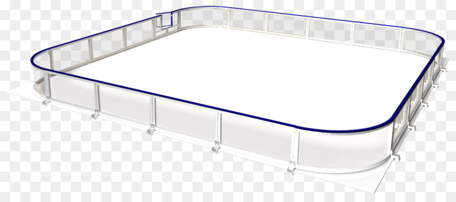 Car Bed frame Material - Hockey Rink png download - 1000*441 - Free ...