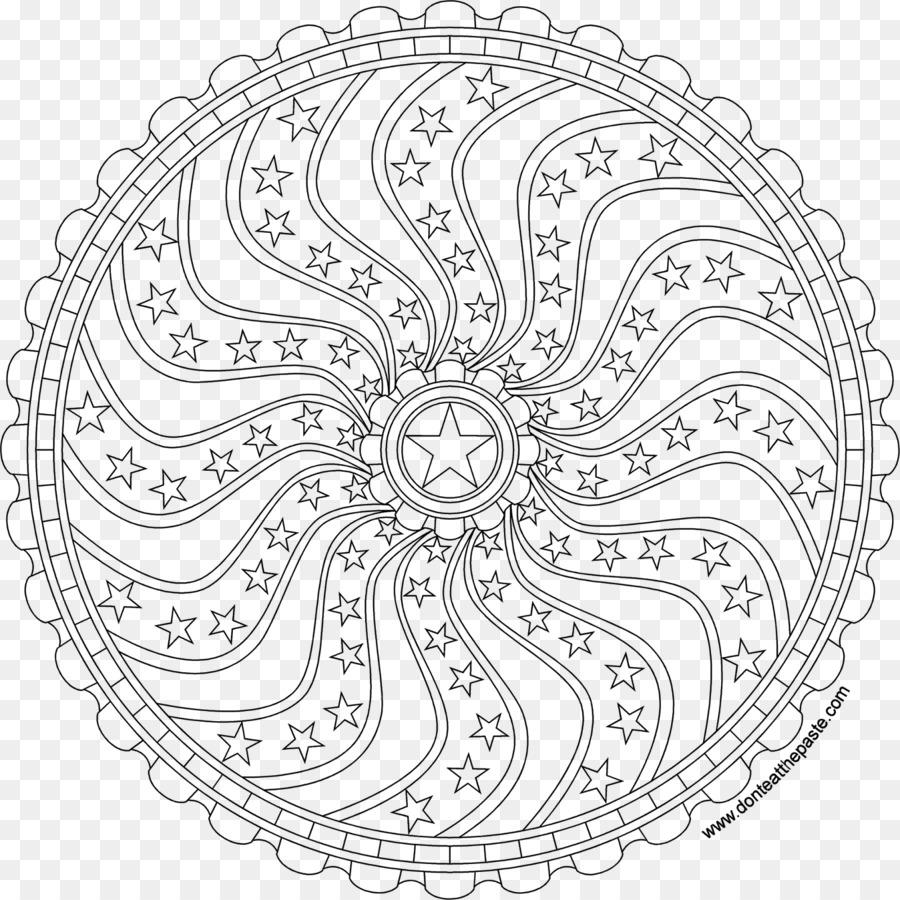 Mandala libro para Colorear de Dibujo de la Meditación para Adultos ...