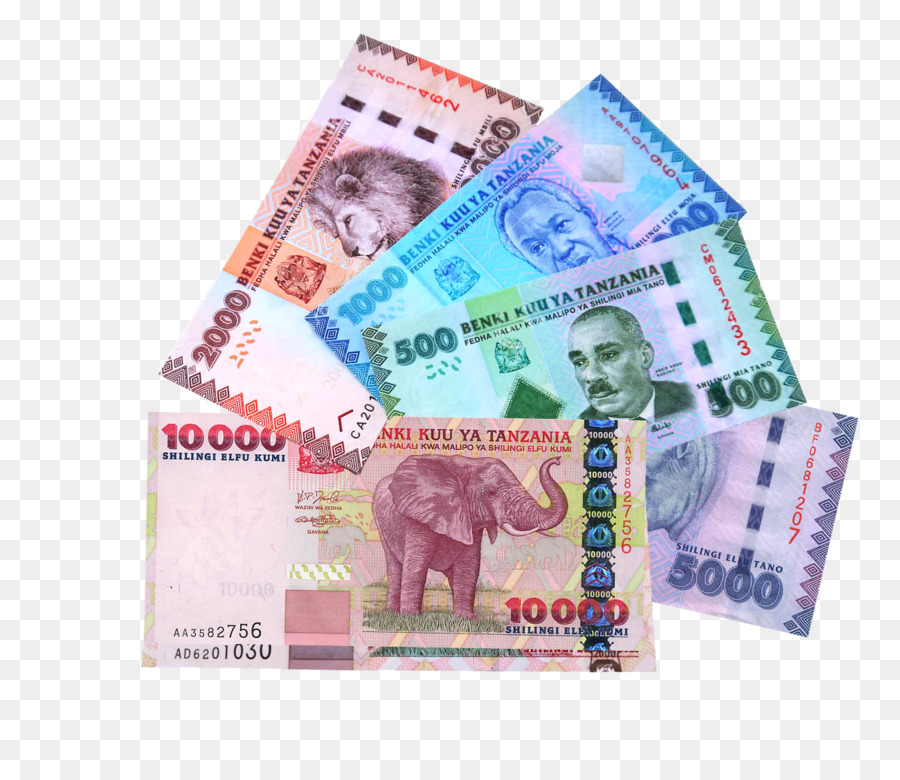 Banknote Tanzanian Shilling Money Currency Cent Banknote Png
