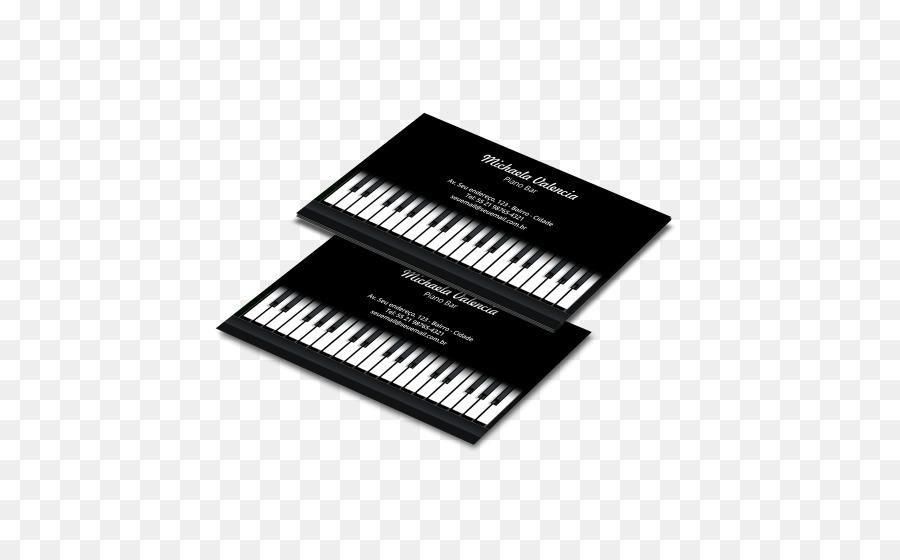 Piano Numerique Clavier Electronique Musical Papier Cartes De Visite