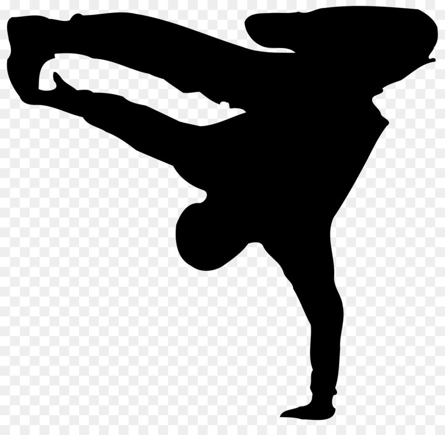 Breakdancing Hip-hop dance Street dance Clip art - Silhouette png ...