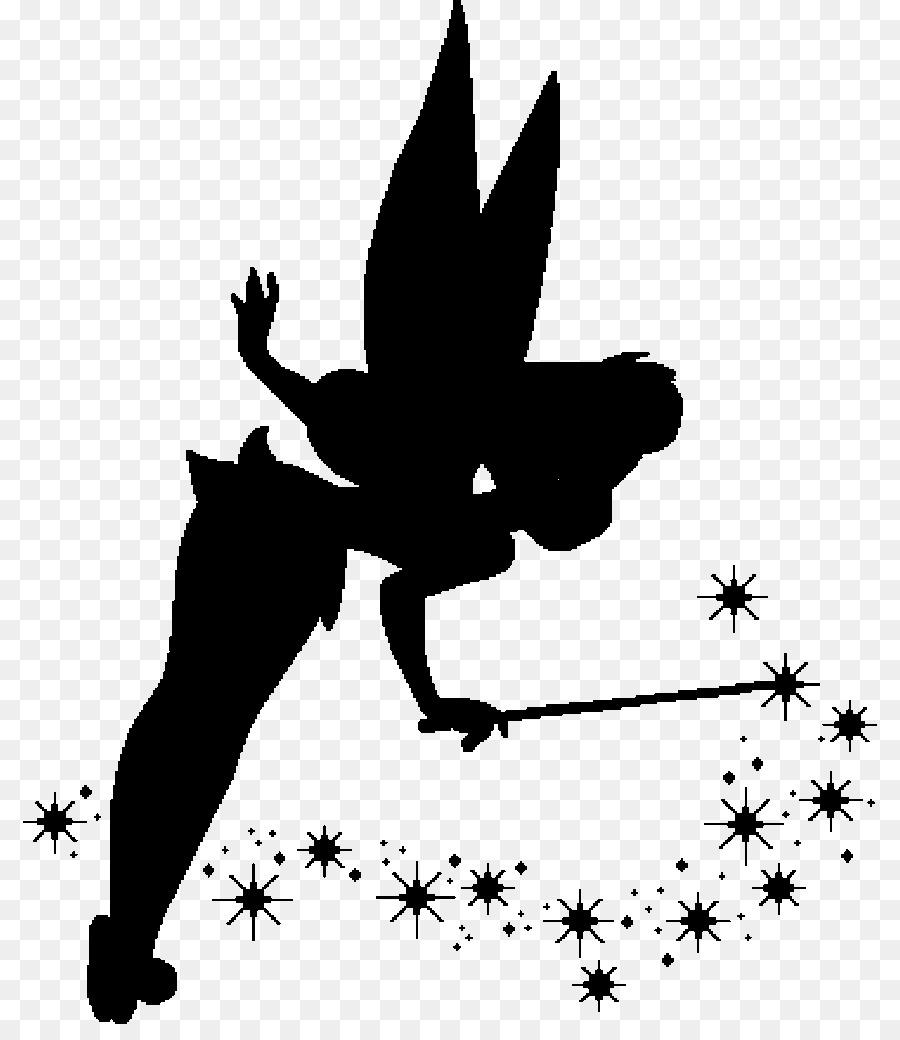 Tinker Bell Ariel Peeter Paan Peter Pan Silhouette