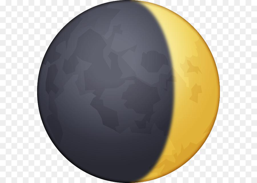 Lunar Phase Moon Emoji Crescent Moon Png Download 640640 Free