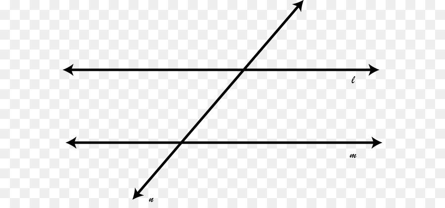 Winkel Transversal Linie Parallel Mathematik - Transversale png ...