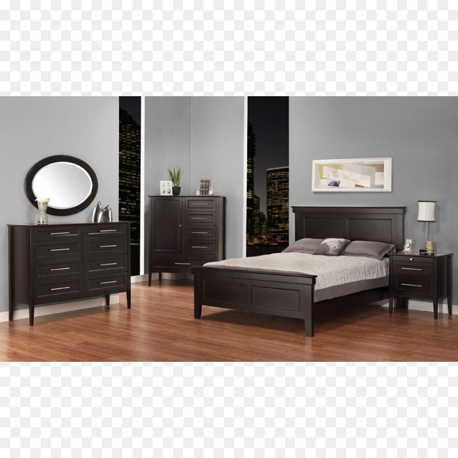 Marco de la cama con mesitas de noche Conjuntos de Muebles de ...