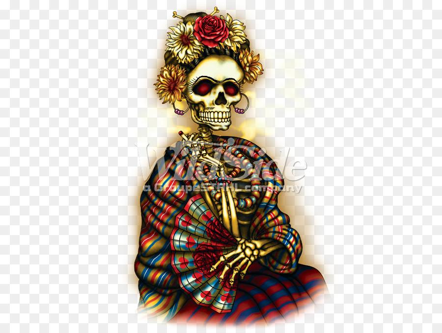 Skull Calavera Day Of The Dead Aztec