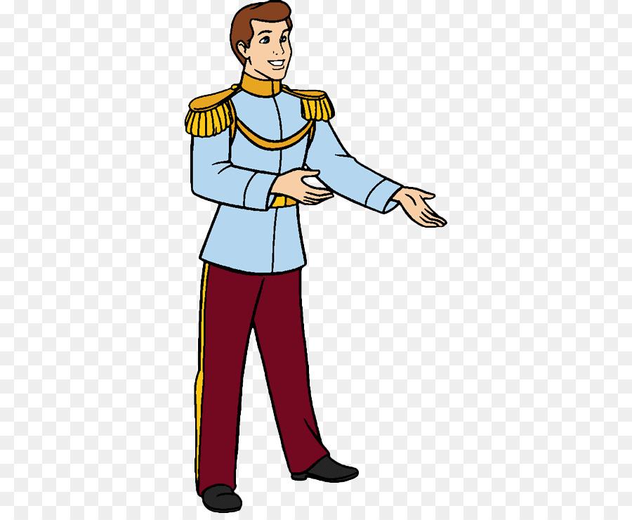 Il principe azzurro di cenerentola clip art