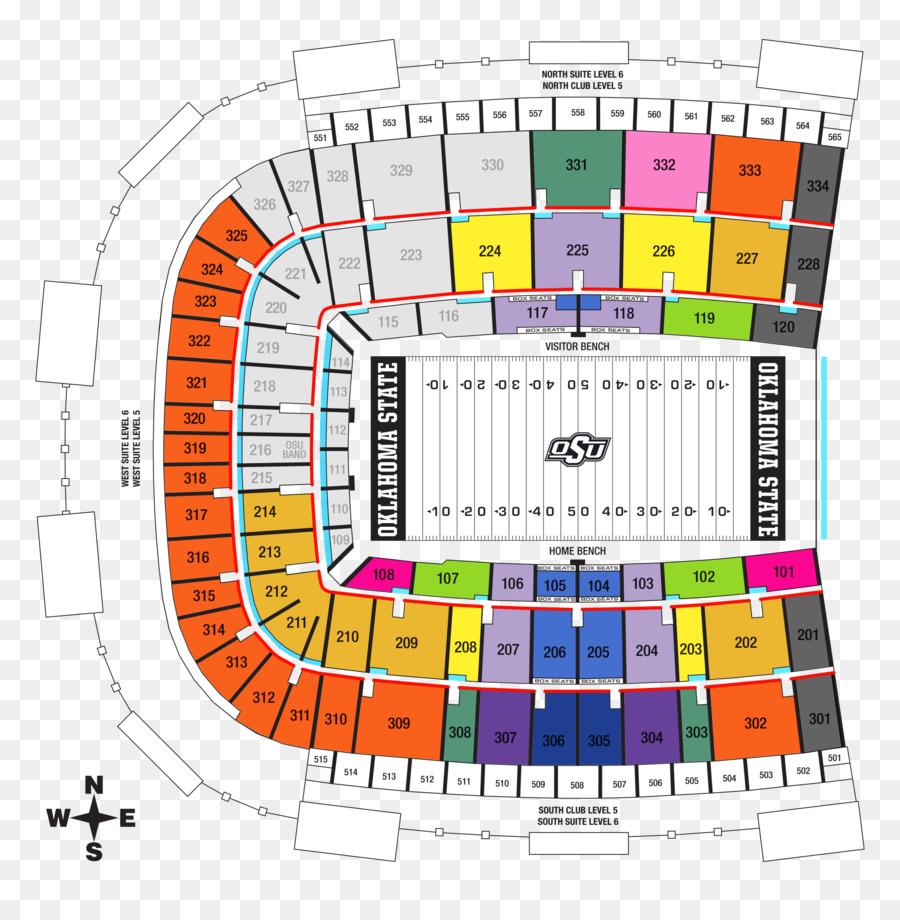 Boone Pickens Stadium Oklahoma State Cowboys Football Gallagher Iba Arena Stambaugh Man Seating Png 2500 2518 Free Transpa
