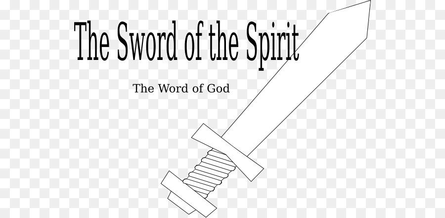 Espada libro para Colorear Espíritu Clip art - La Armadura De Dios ...