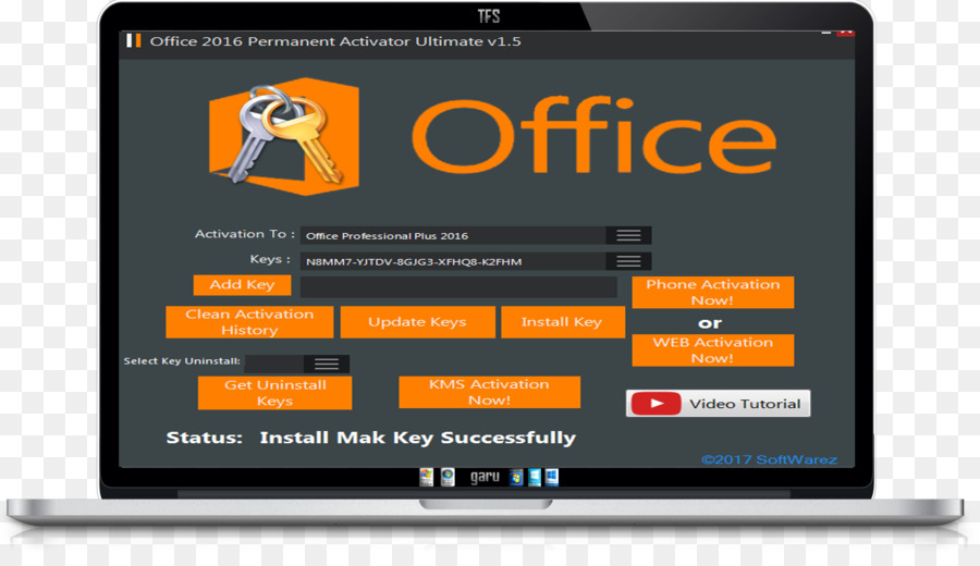 extract product key microsoft office 2016